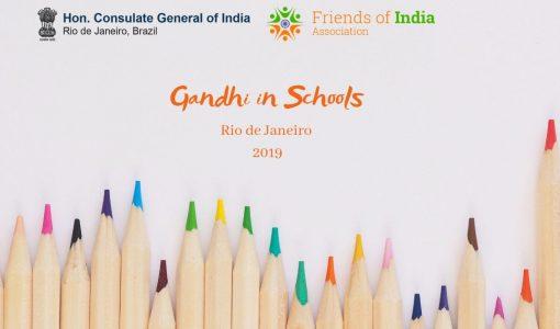 Gandhi in Schools Rio de Janeiro 2019